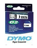 Dymo S0721030 Schrift- und Farbbänder D2 6x10 weiß