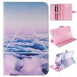 Skytar Galaxy Tab 3 7.0 Lite Coque - Bookstyle Case Cover PU Cuir Etui à Rabat Coque...