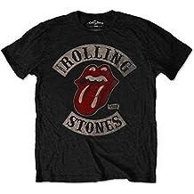 Rolling Stones Tour 78 Mens Blk Ts - camiseta Hombre