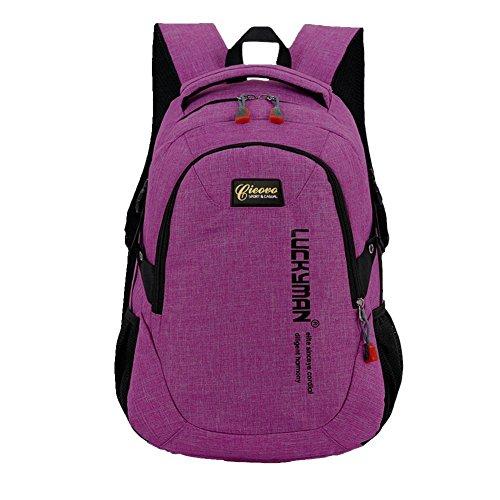 Unisex Rucksack Campus - Cieovo Schulrucksack Rucksack Kinderrucksack Outdoor Freizeit Schultaschen Pink