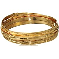 Il quinto anno di Roberto Coin placcato oro, taglio a diamante, diametro 65 mm-Bracciale in (Roberto Coin Designer Bracciale Designer)