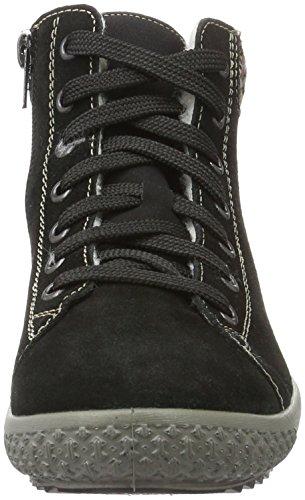 Rieker Damen Y6114 Chelsea Boots Schwarz (schwarz/terra / 01)