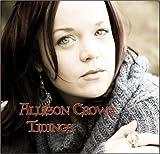 Songtexte von Allison Crowe - Tidings