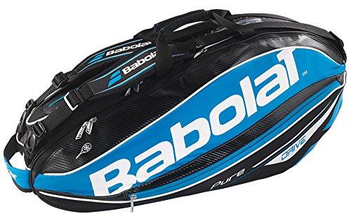 Babolat Schlägertaschen Pure Drive Racket Holder X6, Blau, 75 x 32 x 33 cm, 44 Liter, 751106-136