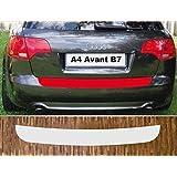 A4 B7 Avant Ladekantenschutz Lackschutzfolie mit Profi-Rakel von CCW/© in Matt Schwarz