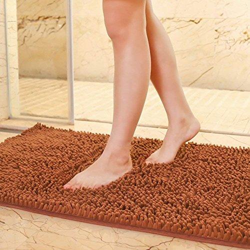 DHG Matten-Teppich/Innen Matte/Schlafzimmer WC Badezimmer Fußmatte/Badematte Saugkissen,EIN,140X200Cm (55X79Inch)
