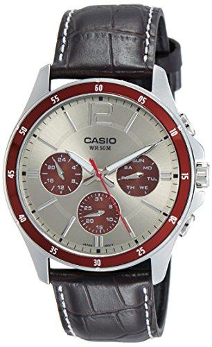Casio Enticer Analog Grey Dial Men's Watch &...