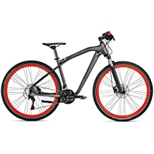 Original BMW Cruise M Bike/bicicleta en mate anthrazite/Red–Tamaño L