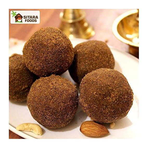 Sitara Foods - Bellam Minapa Sunnundalu / Black Gram / Jaggery Urad Dal Laddu (Home Made Andhra Style)