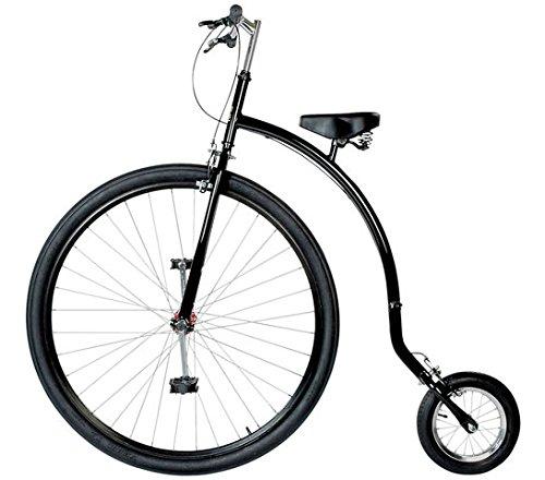 36/12 Zoll Hochrad Einrad Gentlemen Bike schwarz