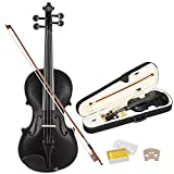 LAGRIMA Full Size 4/4 Violin Plywood Acoustic Violin with Rosewood Bow with Rosin