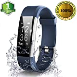 OMNiX ID115 Plus HR Waterproof Smart Fitness Band with Heart Rate Monitor, Step Counter, Alarm, Message, Facebook, Twitter, Whatsapp & Call - Activity Tracker Watch for Women & Men