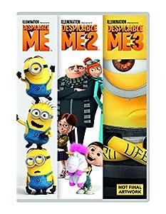Despicable Me 1-3 Boxset  (DVD + digital download) [2017]