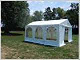 Pavillon Pavillion Festzelt Partyzelt Giant Pro PVC 6x6m 6x6 mit Fenster