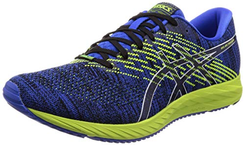 ASICS Herren Gel-DS Trainer 24 Laufschuhe, Blau (Illusion Blue/Black 400), 42.5 EU (Asics-gel-sport)