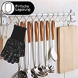 Better Choice Grillhandschuhe, Ofenhandschuhe Hitzebeständige bis zu 500 ° C, Premium Kochhandschuhe für BBQ, Kochen, Backen und Schweißen - 4