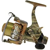 NGT Unisex Camo40 3bb Carp Runner' Reel with Spare Spool, Green, 12 Lb
