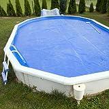 Aquamarin Pellicola solare termina per piscina 6 x 4 metri