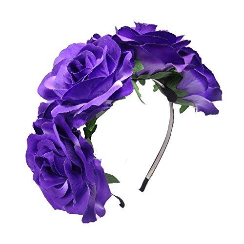 TOOKY - Bandeau - Femme Grand big purple