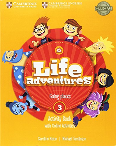 Life Adventures Level 3 Activity Book with Home Booklet and Online Activities por Caroline Nixon