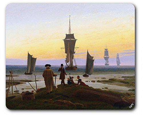 1art1 88727 Caspar David Friedrich - Die Lebensstufen, 1835 Mauspad 23 x 19 cm