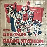 Vintage 1950\'s J & L Randall Merit Dan Dare Space Control Radio Station In The Original Box