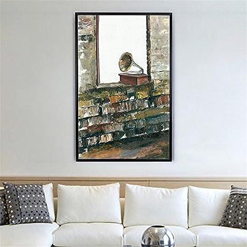 DONG Casella di Living Room Hotel pittura decorativa murales dipinti decorativi sono retrò , wood color ,