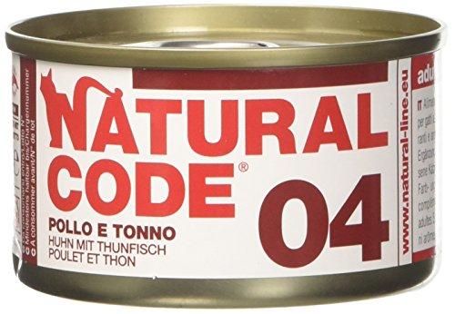 NATURAL CODE Cat 04 Tonno Pollo Alimenti Gatto Umido Premium (Natural Code)