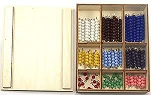 Kit complet pour le serpent de l'addition Montessori