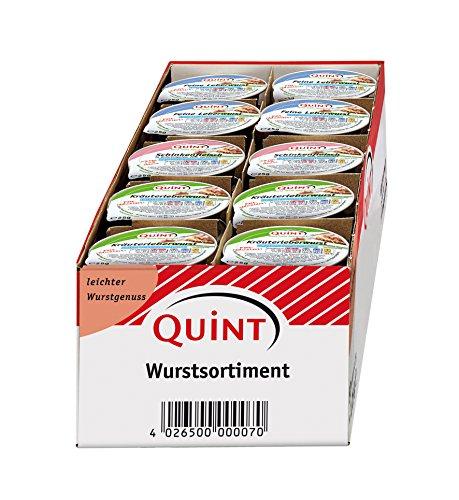 Quint Vitaness Mischkarton Leichter Wurstgenuss, 1er Pack (1 x 1250 g)