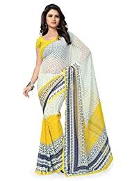 Vaamsi Georgette Saree with Blouse Piece