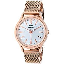 THINKPOSITIVE, Womens watch, Model SE W 131 A Big Milano Rosè, Steel Bracelet, Unisex