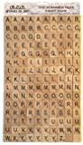 Wooden Scrabble Tiles - Set of 150 Tiles for Crafting (More useful letter selection)