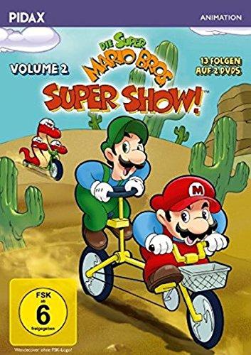 Die Super Mario Bros. Super Show!, Vol. 2 / Weitere 13 Folgen mit dem berühmten Videospiel-Duo + 3 Bonusepisoden (Pidax Animation) [2 DVDs] (Super Mario Bros-dvd-film)