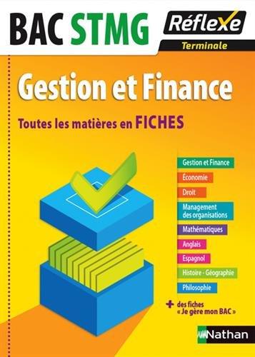 Toutes les matières en FICHES Terminale STMG - Gestion et Finance par Karim Djeffal