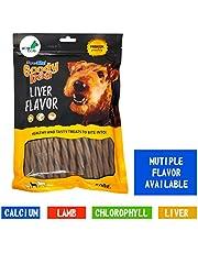 Wowdog Energy Dog Treats Liver Dental Chews Sticks - 500 Gr
