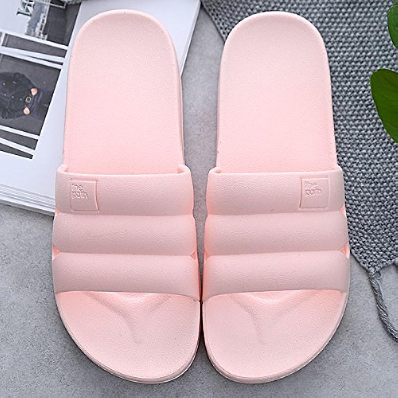BAOZIV587 Zapatillas de Espuma para Baño Interior Suave Zapatillas de Espuma para Interior Suave Baño Slip Home...