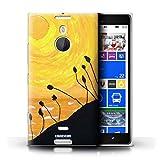 Stuff4 Hülle / Hülle für Nokia Lumia 1520 / Gelb Muster