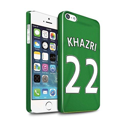 Offiziell Sunderland AFC Hülle / Glanz Snap-On Case für Apple iPhone 5/5S / Pack 24pcs Muster / SAFC Trikot Away 15/16 Kollektion Khazri