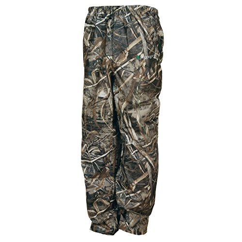 Frogg Toggs Pro Action Regenhose, Herren, Pilot Series PRYM1 Camo Jacket, Realtree Max-5, Small -