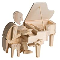 Timberkits - Pianist - Wooden Model Kit