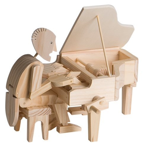 Timberkits - Pianist - Wooden Model Kit