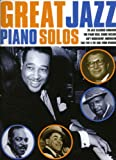 Great Jazz Piano Solos-Music Book