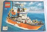 LEGO ® CITY - Beschreibung - Bauanleitung - Aufbauanleitung - 7739-1 - Rettungsschiff Küstenwache