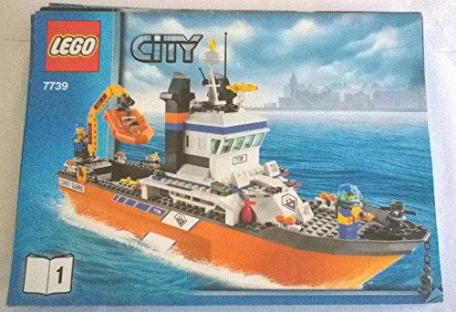LEGO® City-Descrizione-Istruzioni-Istruzioni di montaggio-7739-1-Guardia costiera nave di salvataggio
