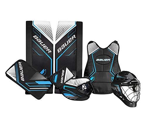 BAUER Recreational Streethockey Goalie Set 24' 5-teilig 1053439, Größe:24 Zoll -