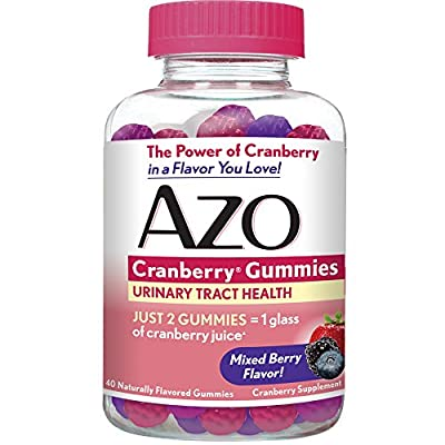 Azo Cranberry Gummies, 40 Count by Azo