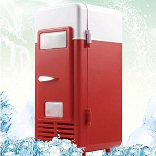 Preisvergleich Produktbild Auto Mini-USB-Cola-Getränk Kühlschrank Beverage Can Cooler / Warmer Kühlschrank Gefrierschrank