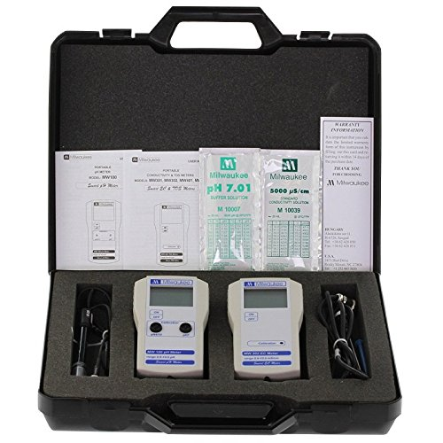 pH und EC-Messer-Kit Milwaukee Koffer