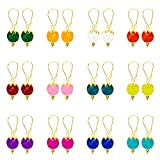 #1: 12 Pairs of Kiwi Kreation Handmade Ear rings for Girls and Women daily wear